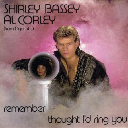 """Aus dem Giftschrank: Als Shirley Bassey und Al Corley (""""Denver-Clan"""") im Duett trällerten"""