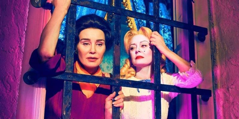 """Jessica Lange und Susan Sarandon spielen Joan Crawford und Bette Davis in """"Feud"""""""